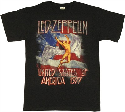 led zeppelin angel shirt - photo #12