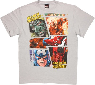 Marvel Thrills T Shirt