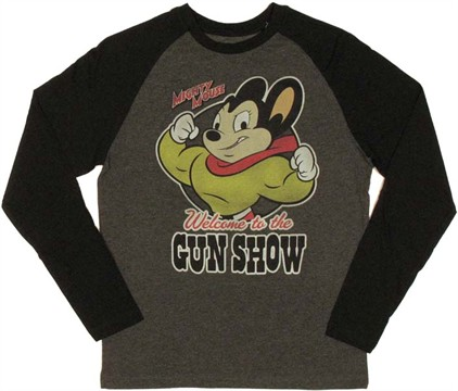 Gun T Shirts >> MIGHTY MOUSE GUN SHOW T SHIRT on The Hunt
