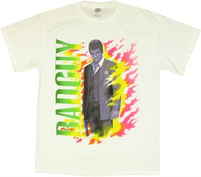 Scarface Bad Guy White T Shirt