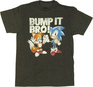 Sonic the Hedgehog Bump It T Shirt
