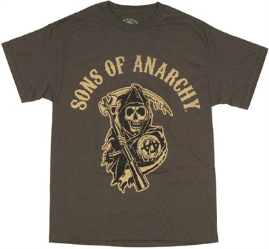 Sons of Anarchy Logo T Shirt