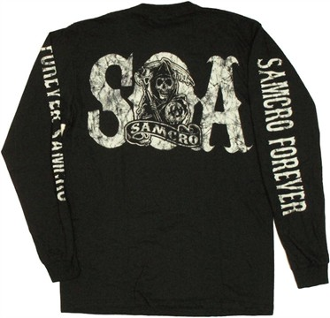 Sons of Anarchy SAMCRO Forever Long Sleeve T Shirt