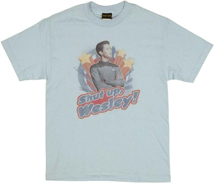 Star Trek Wesley T Shirt
