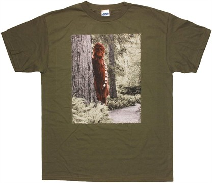 Star Wars Chewbacca Sasquatch T Shirt
