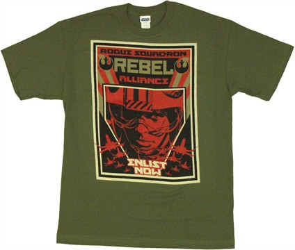 Star Wars Rebel Enlist T Shirt