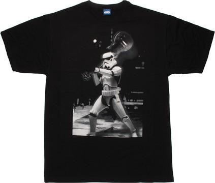 Star wars trooper guitar smash t shirt sheer for Built for war shirt