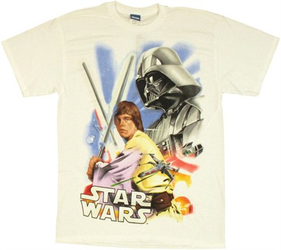 Star Wars UV Scene T Shirt