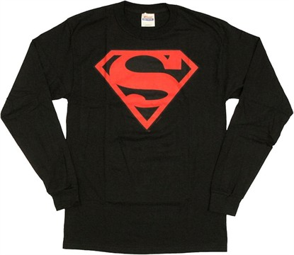 Superman Superboy Long Sleeve T Shirt