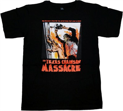Texas Chainsaw Massacre Real T Shirt