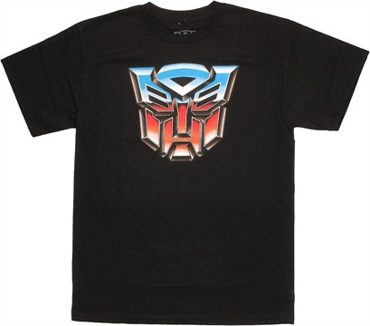 Transformers Autobot Logo T Shirt
