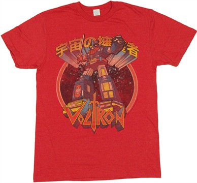 Voltron Vehicle Force T Shirt Sheer