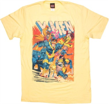 X Men Annual Shattershot T Shirt Sheer
