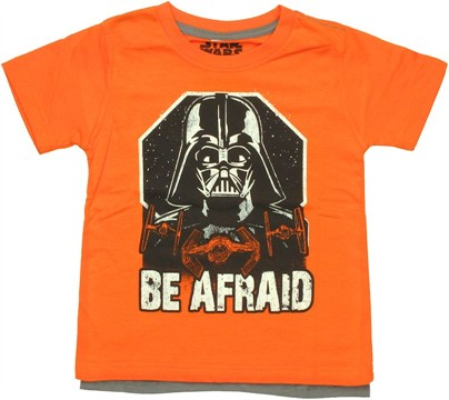 Star Wars Vader Afraid Cape Toddler T Shirt