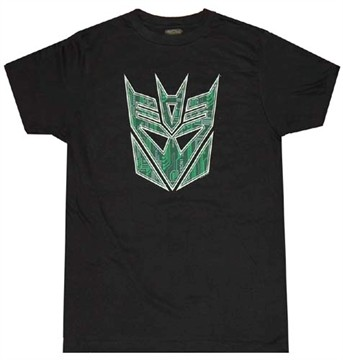 Decepticon Logo T-Shirt Sheer