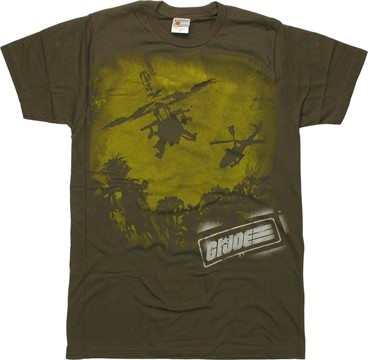GI Joe Helicopter T-Shirt Sheer