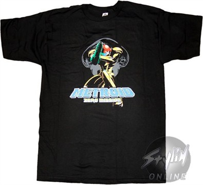 Metroid Kneeling T-Shirt