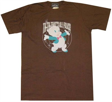 porky pig that. Porky Pig That#39;s All T-Shirt