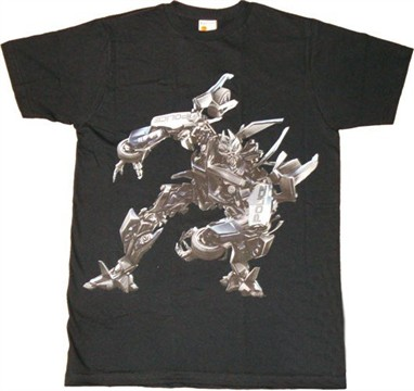 Transformers Movie Barricade T-Shirt Sheer