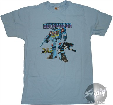 Transformers Decepticon T-Shirt Sheer