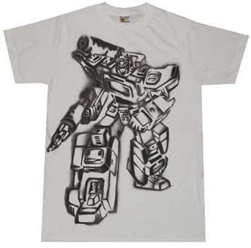 Transformers Soundwave T-Shirt Sheer