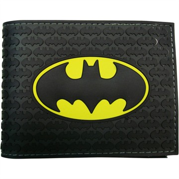 Batman Rubber Bi-Fold Wallet