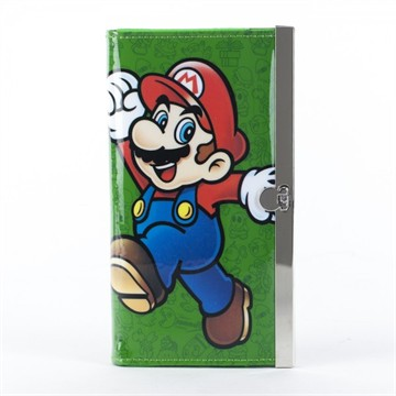 Mario Green Clutch Wallet