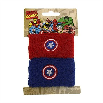 Captain America Wristband Set