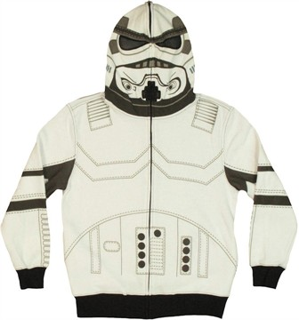 Star Wars Stormtrooper Hood Zip Youth Hoodie