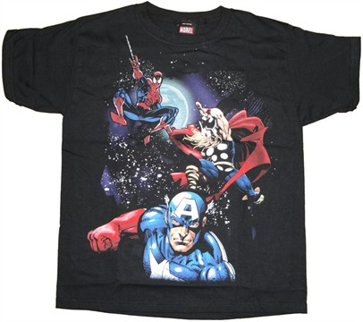 Marvel Space Youth T Shirt