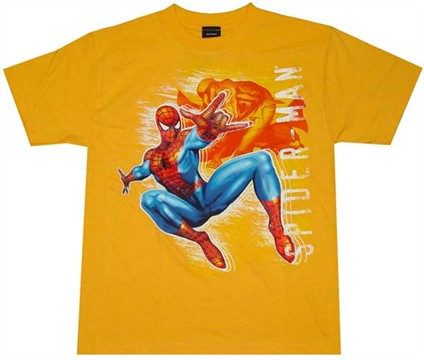 Spiderman Vs Lizard Youth T-Shirt